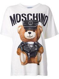"футболка ""teddy bear"" Moschino"