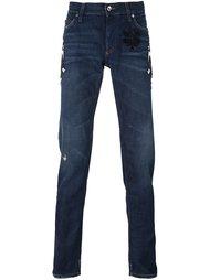джинсы в стиле пэчворк  Dolce & Gabbana