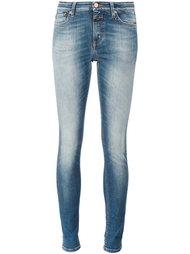 узкие укороченные джинсы Closed