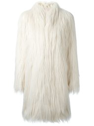 пальто из искусственного меха Giamba