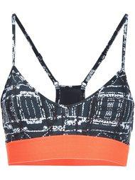 'Jungle Shibori Andie' sports bra The Upside