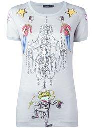 футболка с принтом Wonderland Dolce & Gabbana