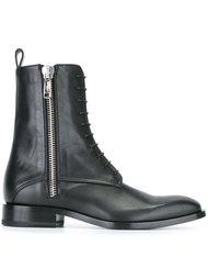 ботинки по щиколотку на молнии Jil Sander