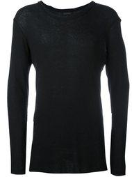 fine-knit sweater Ann Demeulemeester Grise