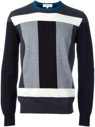 свитер колор-блок  Salvatore Ferragamo