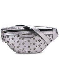 сумка через плечо с заклепками-звездами Jimmy Choo