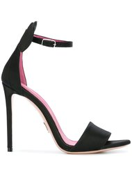 bow stiletto sandals  Oscar Tiye