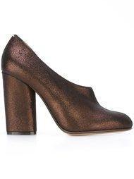 туфли с металлическим отблеском  Maison Margiela