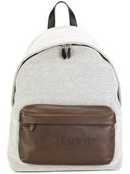 рюкзак с тисненным логотипом Givenchy