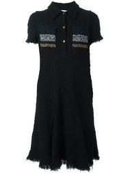 платье-рубашка с короткими рукавами Sonia Rykiel