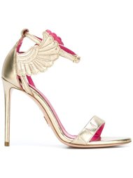 'Wing' stiletto sandals  Oscar Tiye
