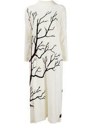 платье с принтом дерева Veronique Branquinho