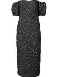 платье с открытыми плечами Brock Collection