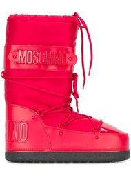 зимние ботинки  Moschino