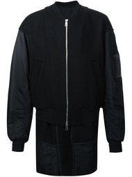 куртка-бомбер на молнии Juun.J