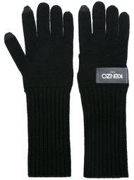 вязаные перчатки Kenzo