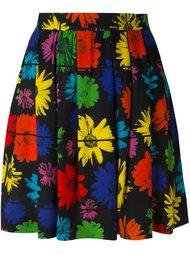 юбка с цветочным принтом   Moschino