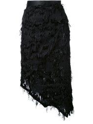 асимметричная юбка Ann Demeulemeester