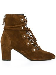 lace-up ankle boots Casadei