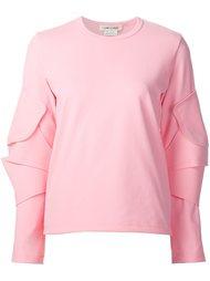 блузка с отделкой на локтях Comme Des Garçons