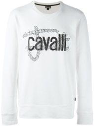 толстовка с логотипом Just Cavalli