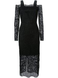 плетеное платье Manning Cartell