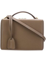 сумка 'Grace Small Pebble Grain Box Bag' Mark Cross