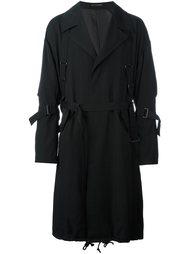 пальто с регулируемыми ремешками Yohji Yamamoto