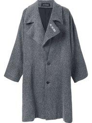 объемное пальто Icosae