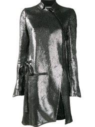пальто на молнии Ann Demeulemeester