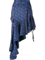 асимметричная юбка 'Chet'  Sandy Liang
