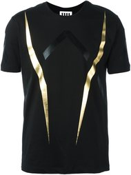 футболка с полосатым узором Les Hommes Urban