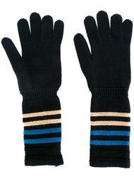 перчатки в полоску Sonia Rykiel