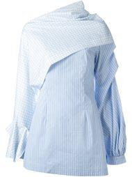 платье-рубашка в клетку Jacquemus