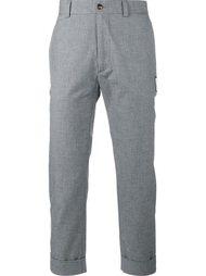 укороченные брюки Moncler Gamme Bleu