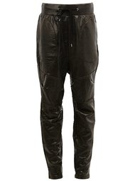 брюки с заниженной шаговой линией  Mihara Yasuhiro