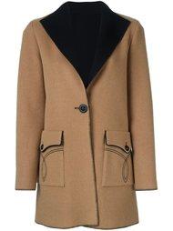 однобортное пальто Fausto Puglisi