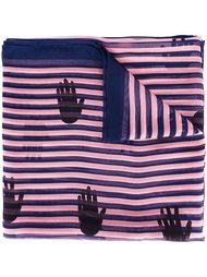 шарф в полоску 'hand' Sonia Rykiel
