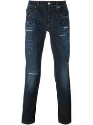 джинсы кроя слим  Les Hommes Urban