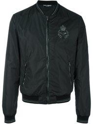 куртка бомбер с вышивкой Dolce & Gabbana