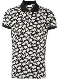 футболка-поло с принтом звезд Saint Laurent