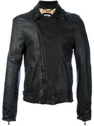 кожаная куртка кроя слим Pihakapi