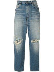 джинсы бойфренда с рваной отделкой Golden Goose Deluxe Brand