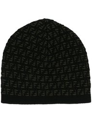 шапка с логотипом FF Fendi