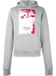 extended sleeve hoodie Hood By Air
