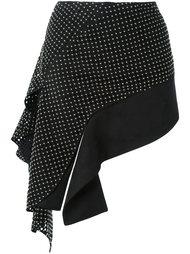 асимметричная юбка Anthony Vaccarello