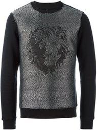 толстовка с изображением льва Versus
