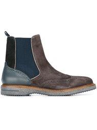 ботинки с панельным дизайном  Brimarts