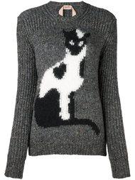 свитер с котом Nº21