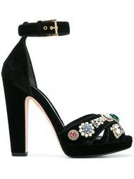 jewel sandals Alexander McQueen